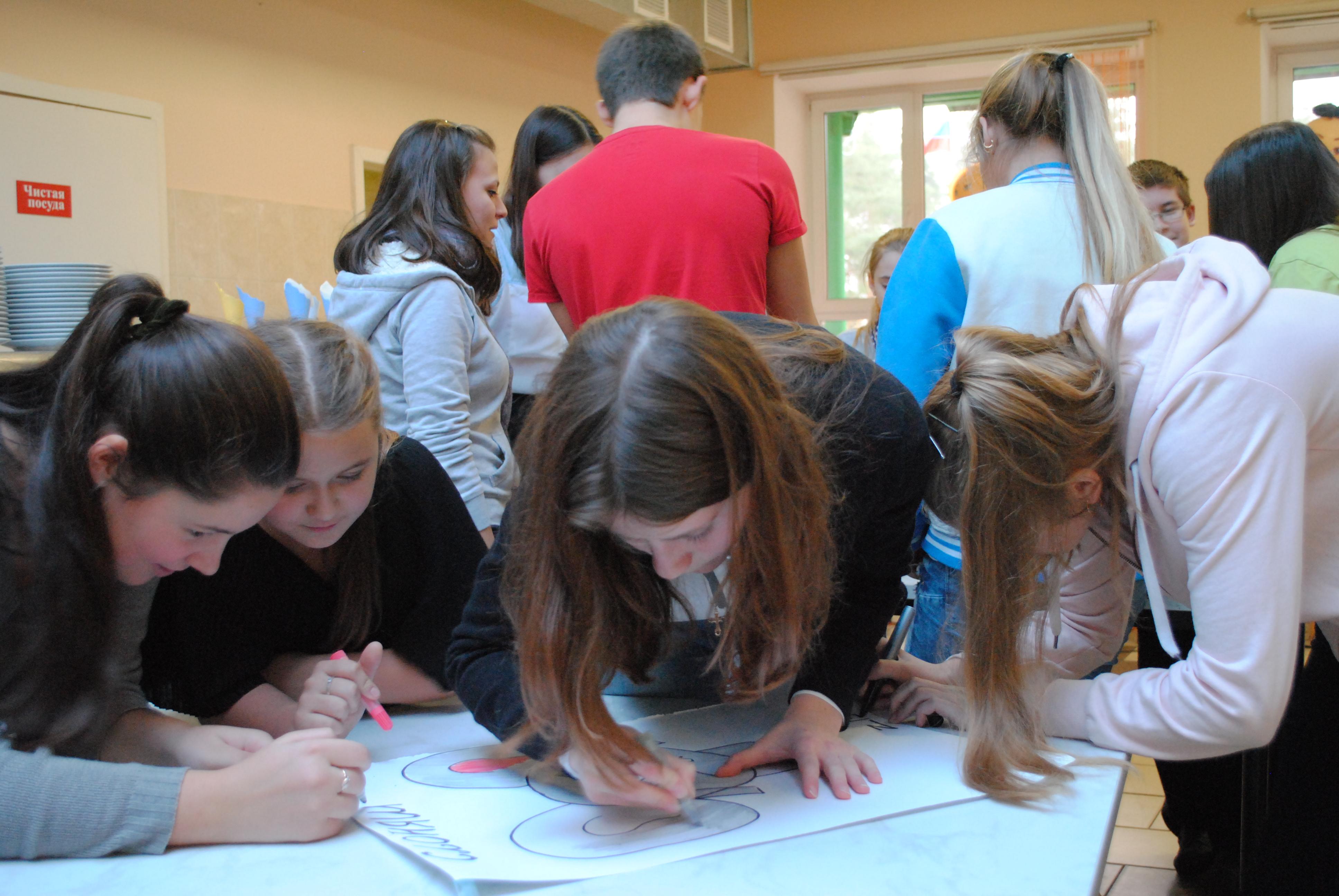Школа актива по теме «Социальное проектирование»