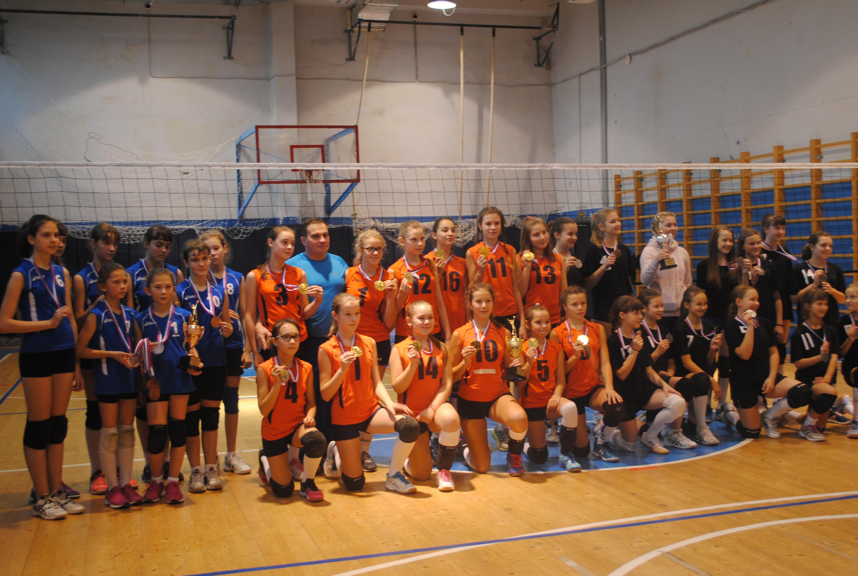 Областные соревнования по волейболу среди девушек 2005-2006 г.р.
