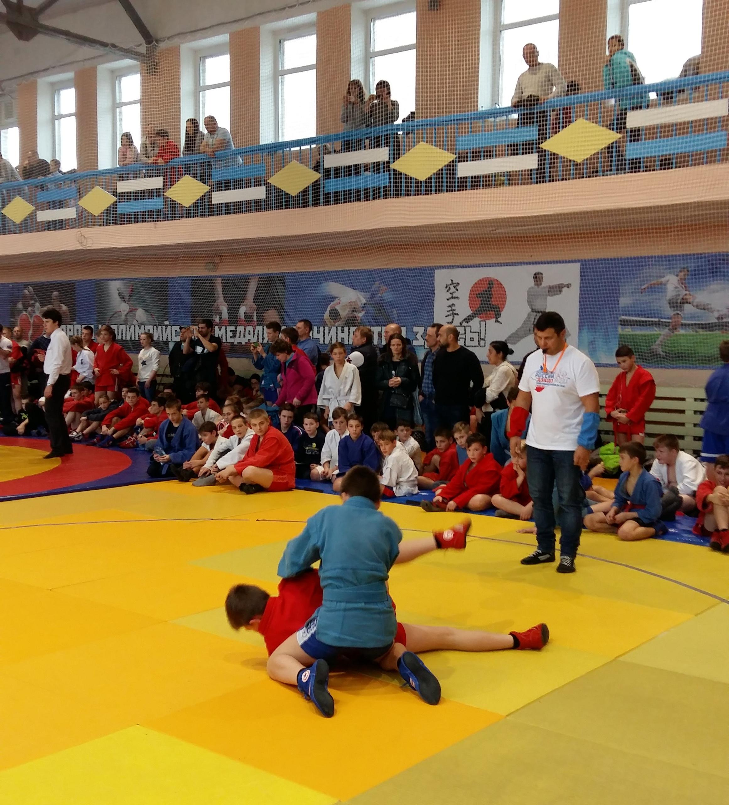 Открытый турнир по борьбе самбо
