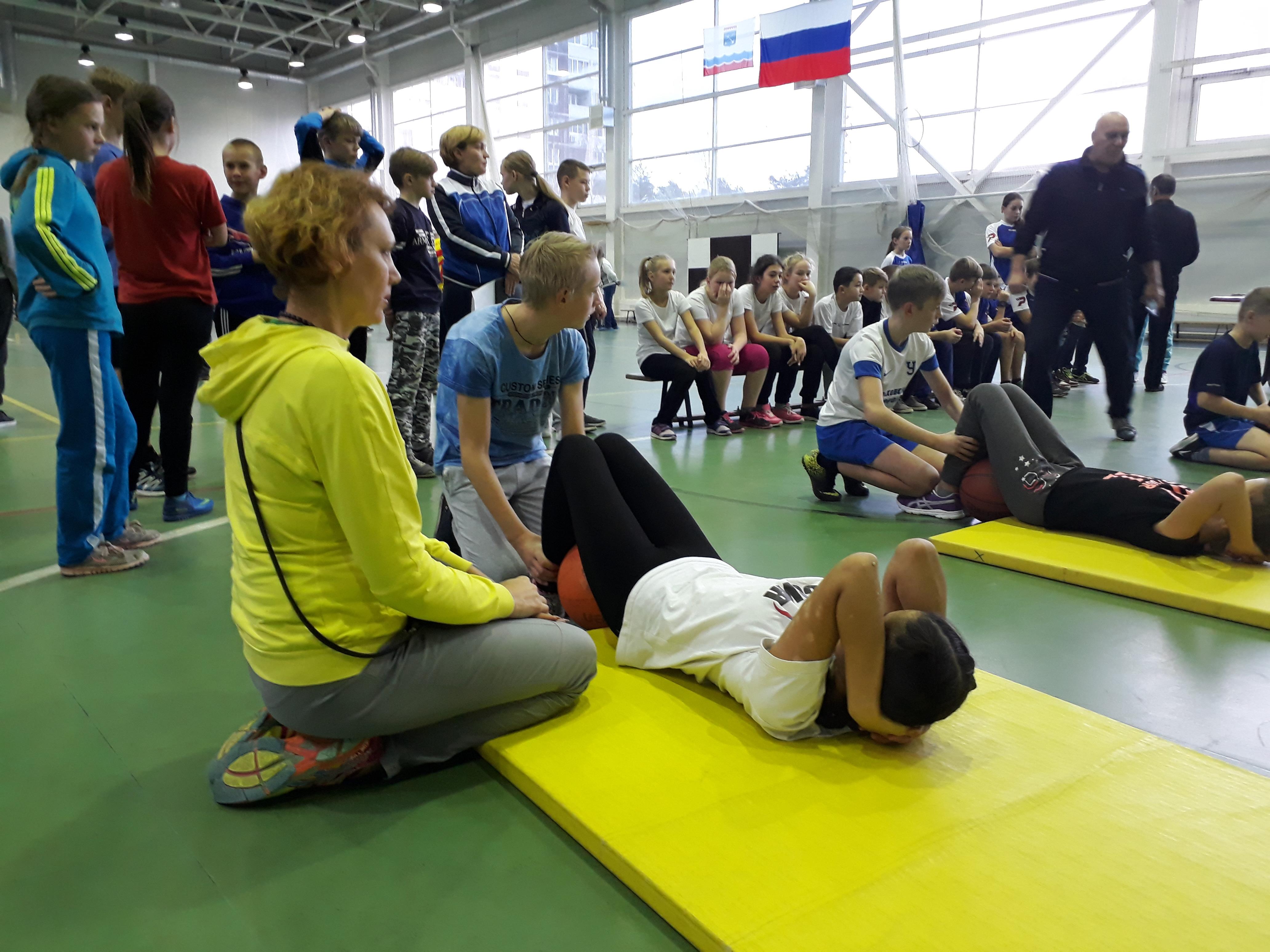 53-я областная Спартакиады школьников: финал по общей физической подготовке