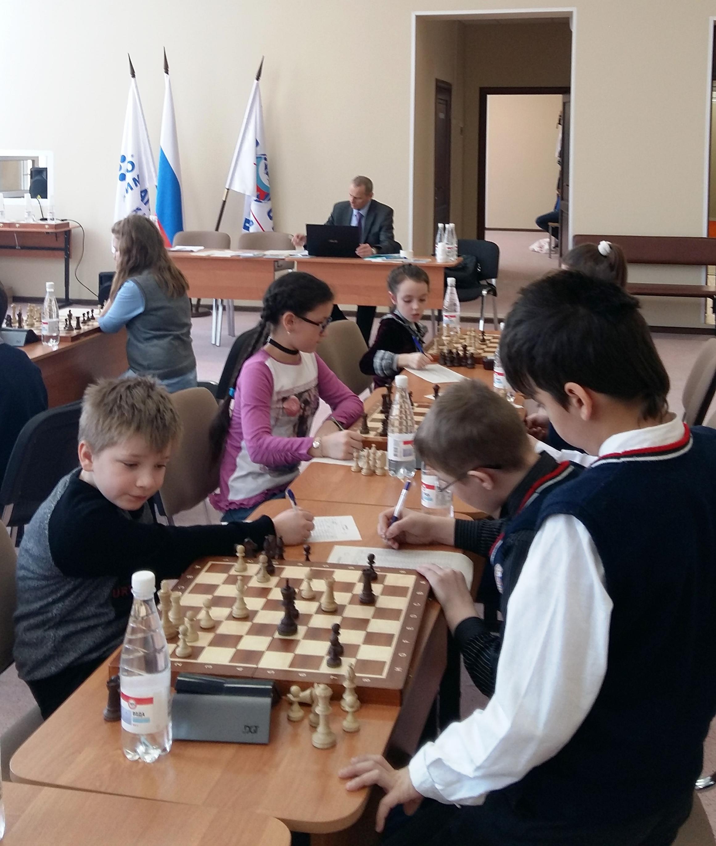 Соревнования по шахматам «Белая ладья»