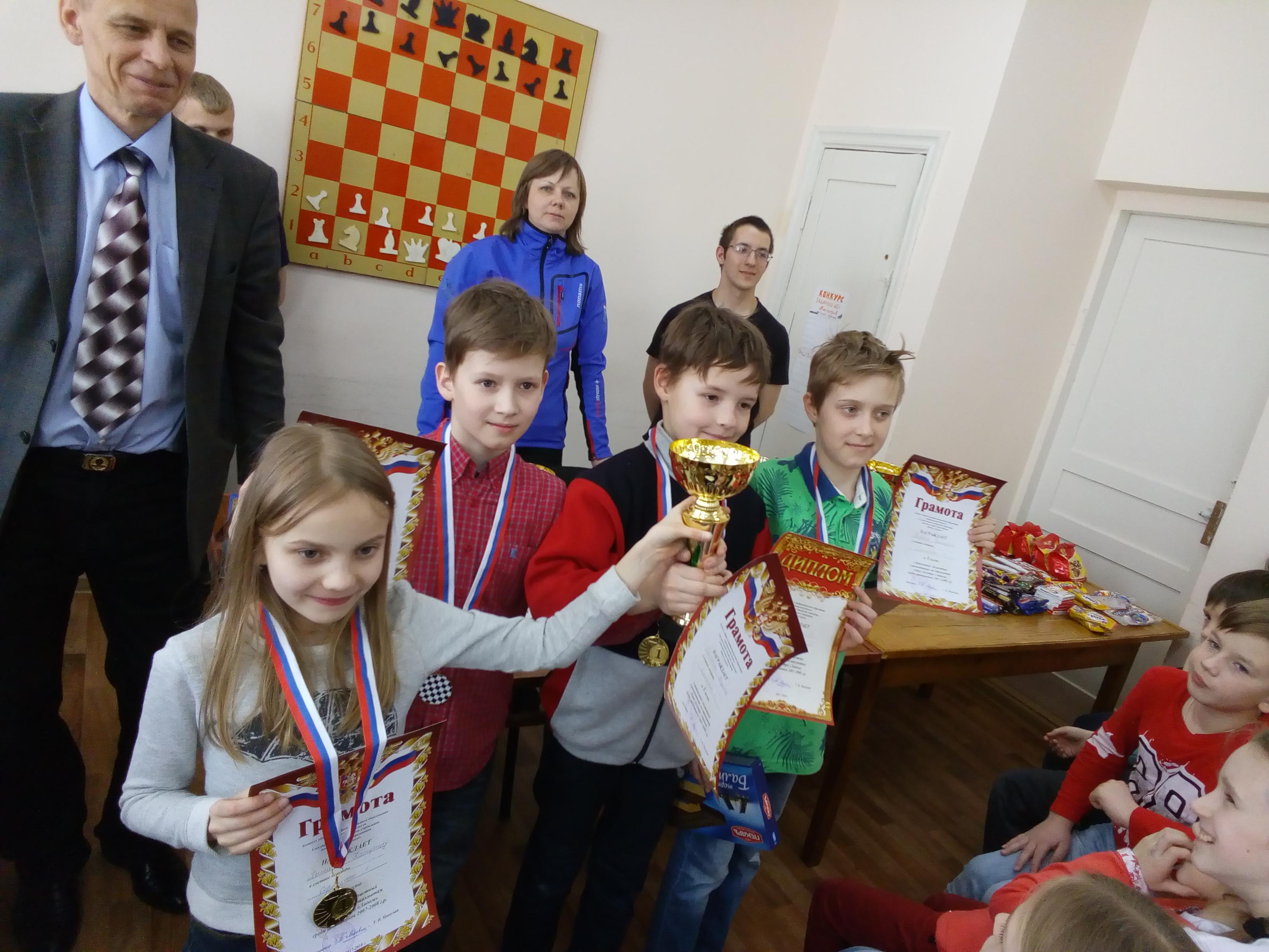 Соревнования по шахматам   «Приз Центра Ладога»