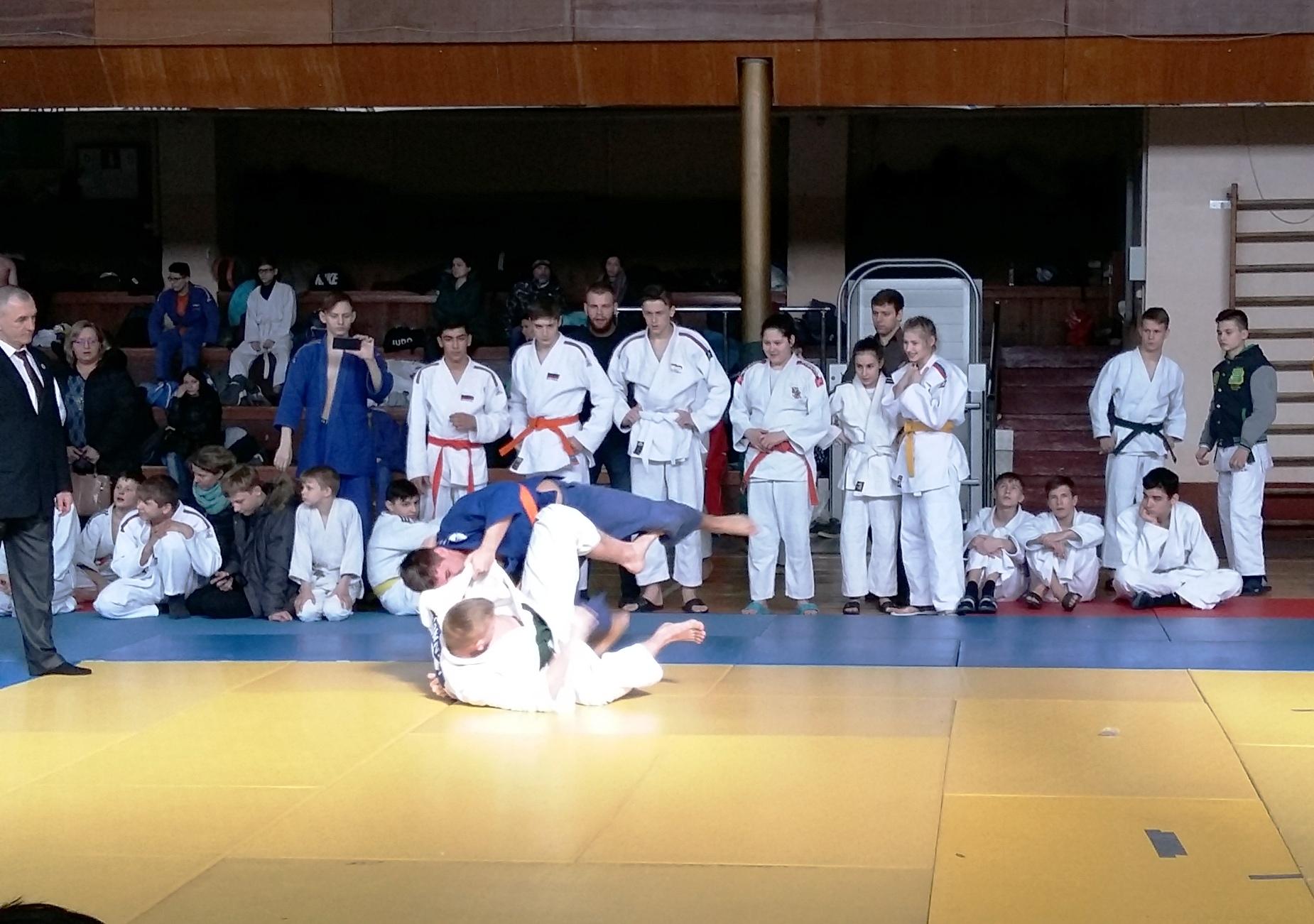 Итоги соревнований по дзюдо