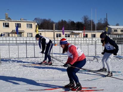 Спартакиада школьников. Финальные соревнования по лыжным гонкам