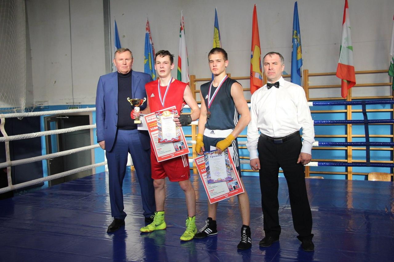 Открытый турнир по боксу памяти В. А. Пономарева