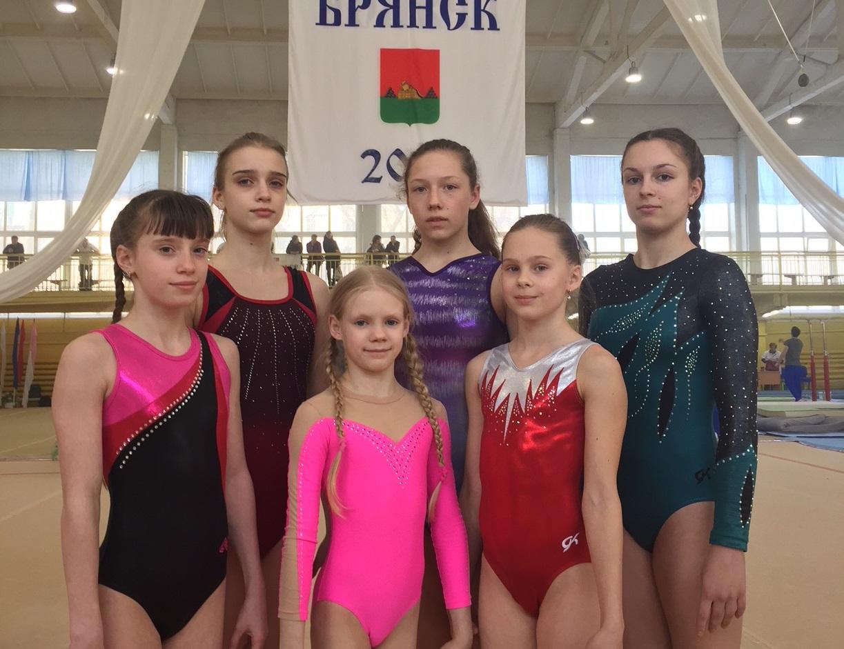 Всероссийские соревнования памяти «Брянских партизан» по спортивной гимнастике.