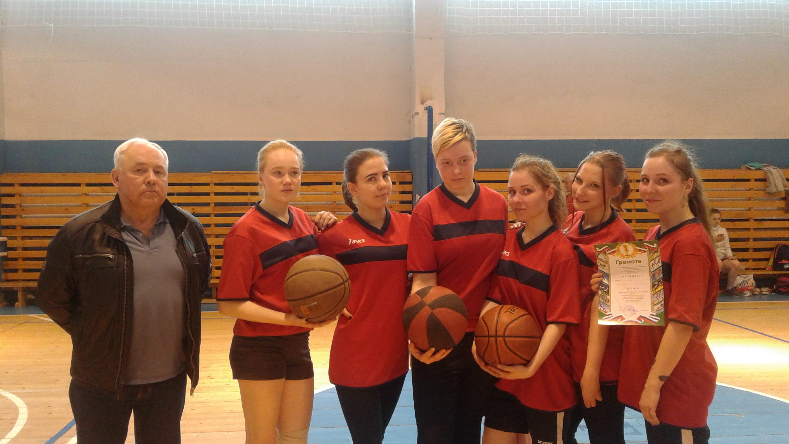 Финальныесоревнования побаскетболу среди девушек на Областной спартакиаде студентовпрофессионального образования