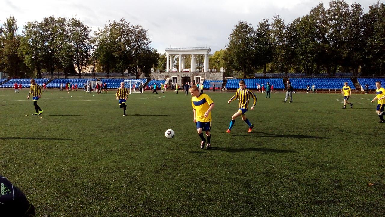 Соревнования Специальной Олимпиады по мини-футболу