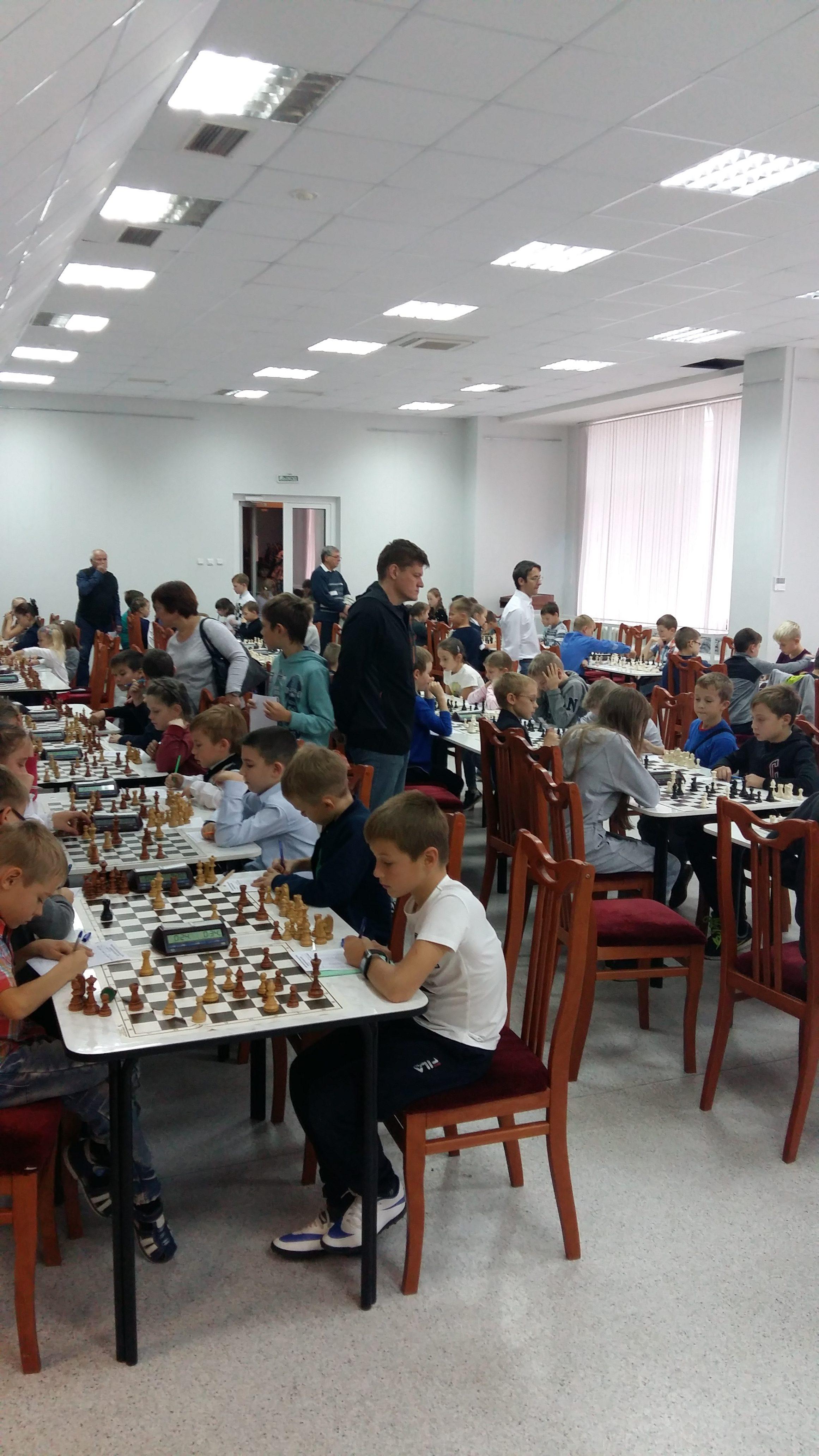 Областные соревнования по шахматам  «Приз Центра «Ладога»(1 этап)