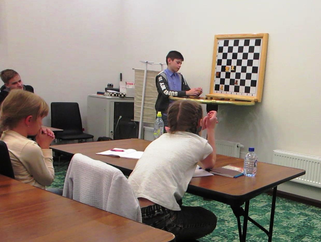 Проведены мастер-классы по шахматам «Хочу стать Чемпионом»