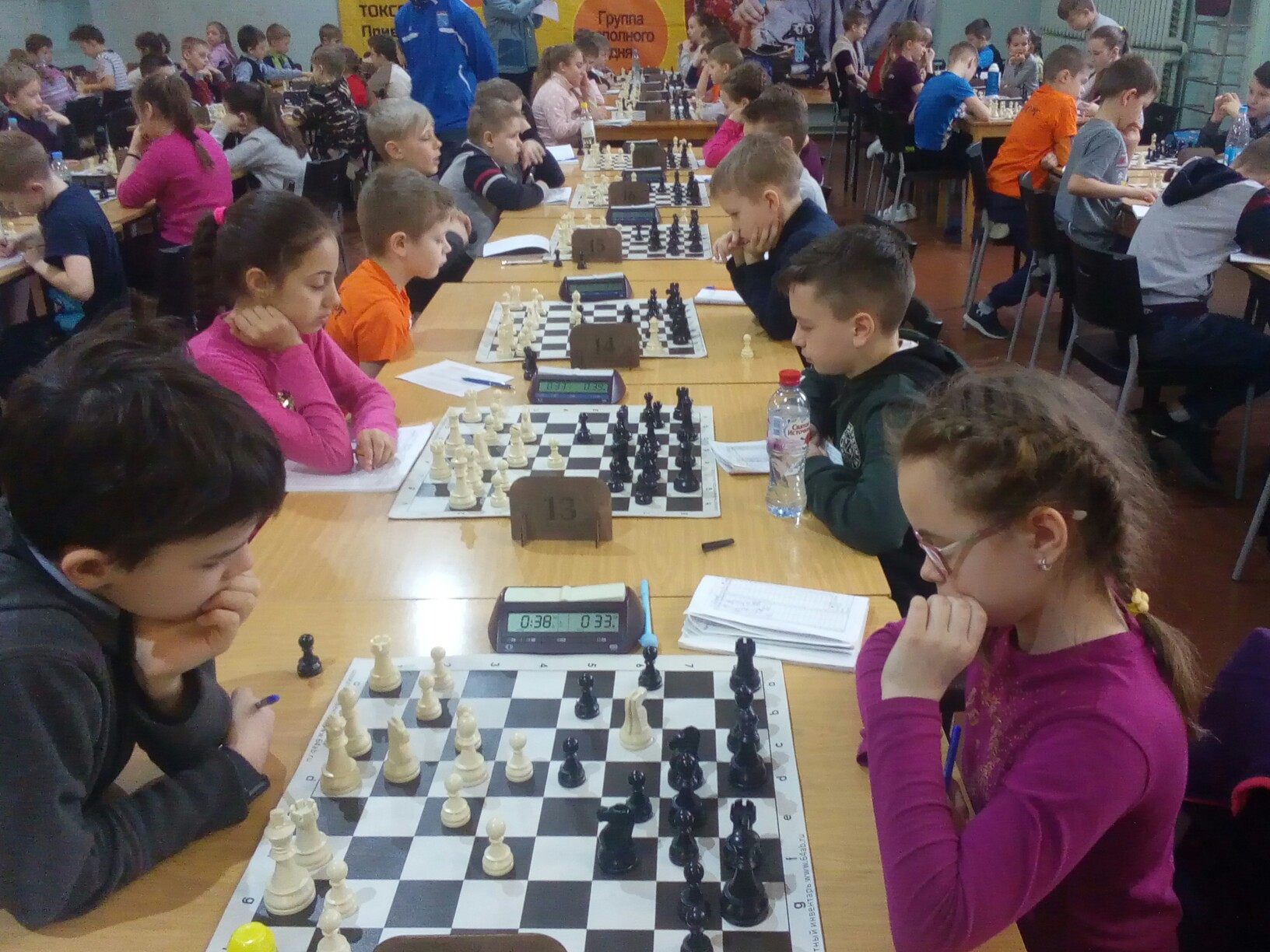 Финал областного турнира по шахматам «Приз Центра Ладога»