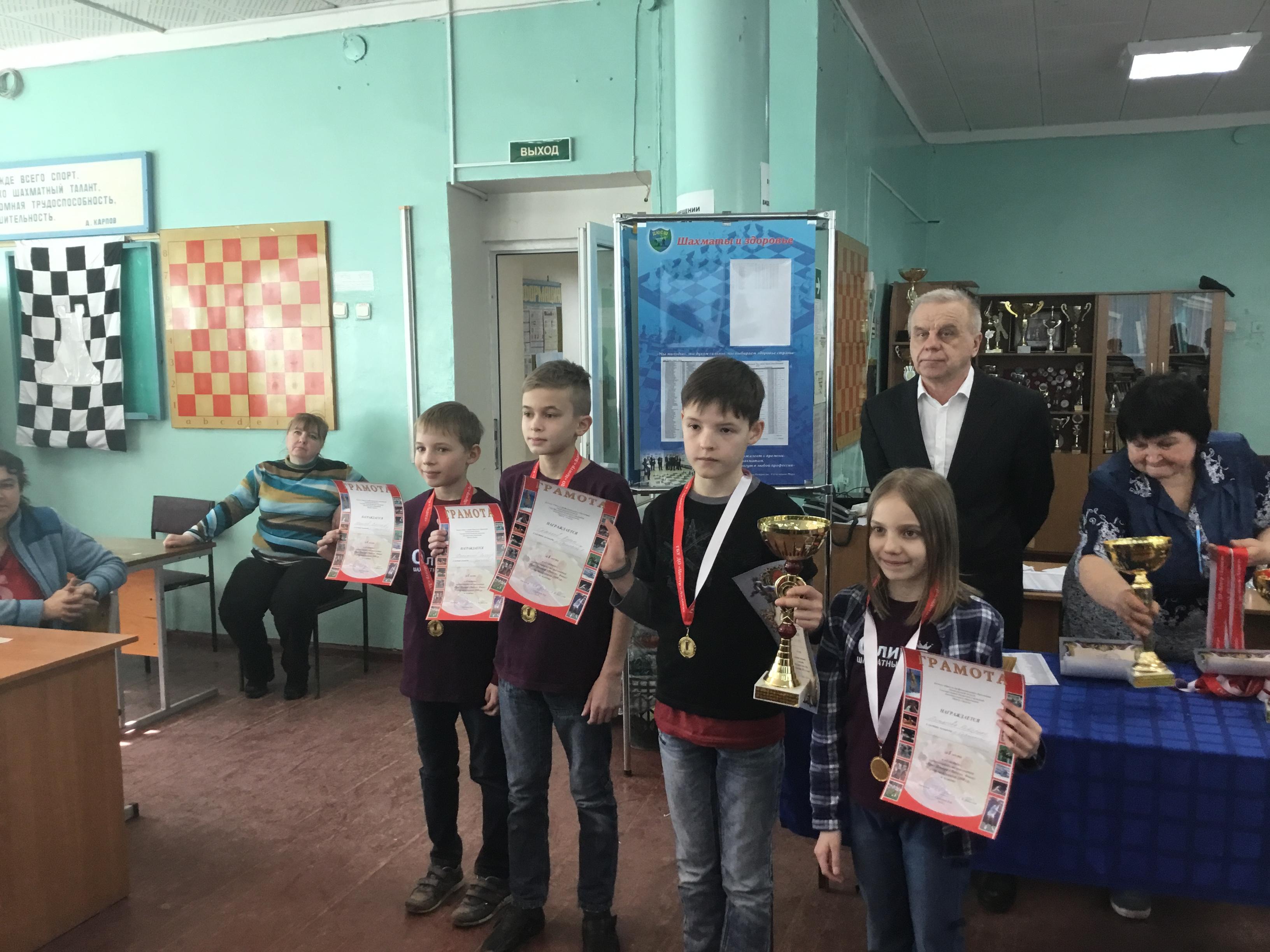 Областной турнир по шахматам «Приз Центра Ладога»