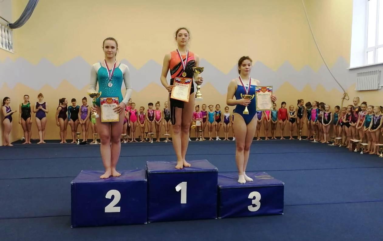 Открытый турнир по спортивной гимнастике, посвященный памяти Ю.А. Фенина