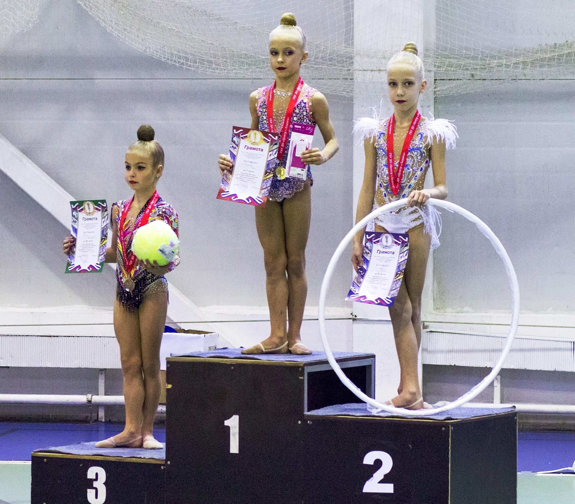 Областной фестиваль по художественной гимнастике  среди юных гимнасток