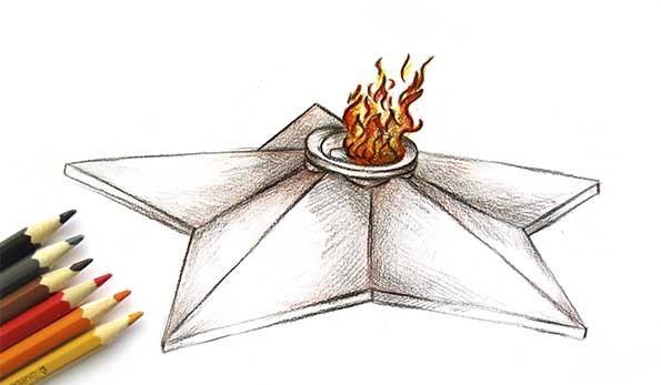 Акция «Искра вечного огня», посвященная 75-летию Победы в Великой Отечественной войне 1941-1945 годов