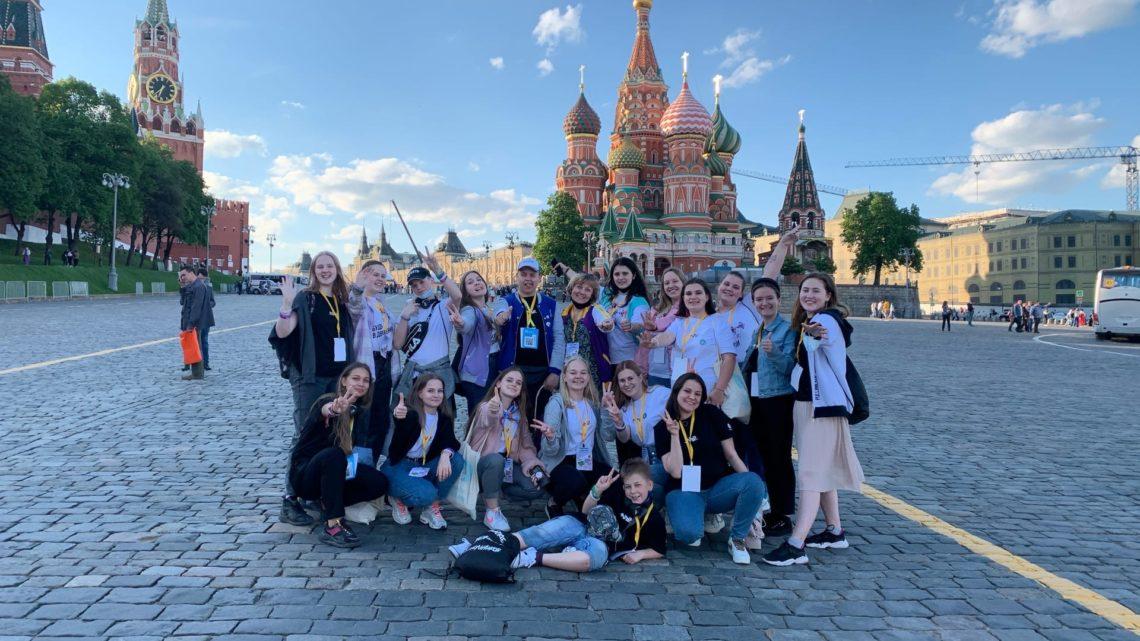 Ребята Ленинградской области стали участниками Всероссийского Большого школьного пикника РДШ