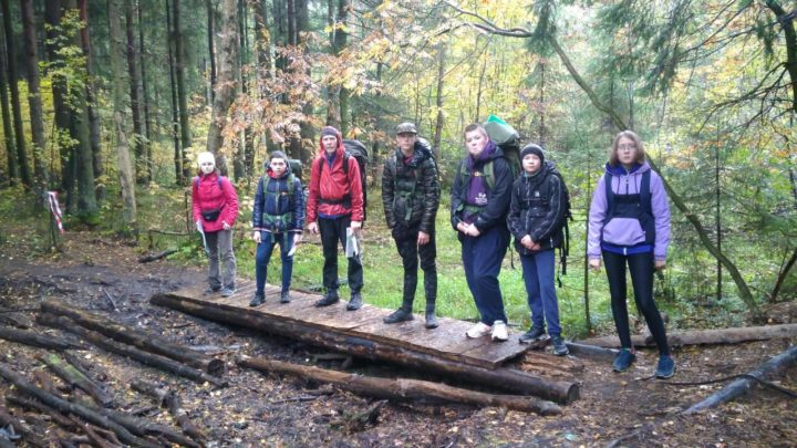 64 областной туристический слет обучающихся Ленинградской области